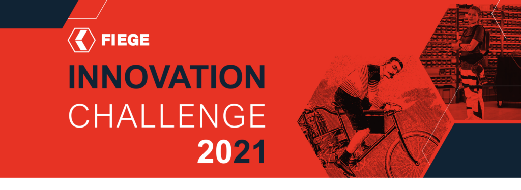 FIEGE Innovation Challenge 2021. We want your best logistics ideas.