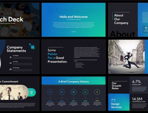 What an optimal pitch deck should look like